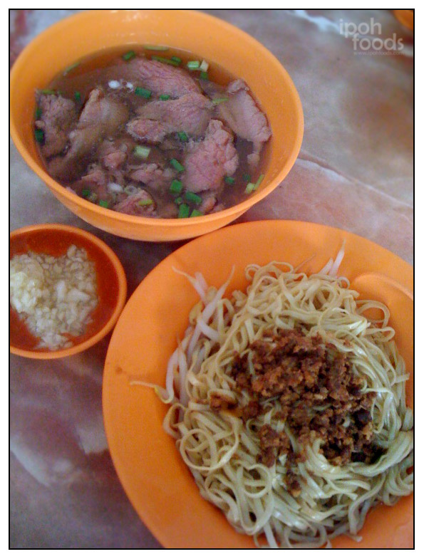 Chang's Beef Noodles and Hakka Mee